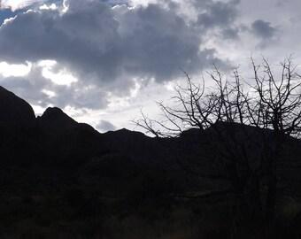 New Mexico Evening Sky