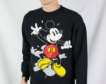 Vintage 90s Mickey Mouse Disney Sweatshirt Size L