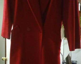 Vintage1980's Red Billycoat
