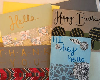 Custom greeting cards - create your own!
