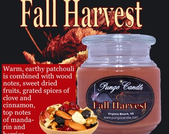 Fall Harvest Scented Jar Candle (16 oz.)!