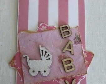 Baby Girl Gift Tag