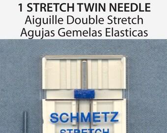 Schmetz Twin Stretch Size 4.0/75 Sewing Machine Needles