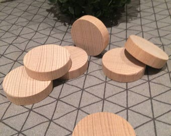 20 pcs Natural wood slices, Tree, Wood circles, Natural ornaments, Table decors, decoupage, party, table cards