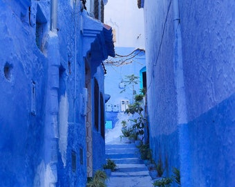 Print : Blue City Morocco