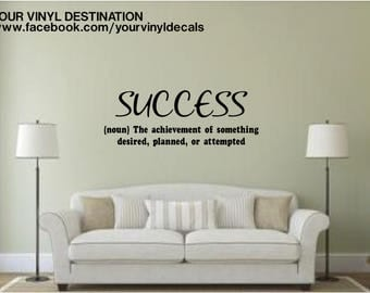 Success Definition Decal
