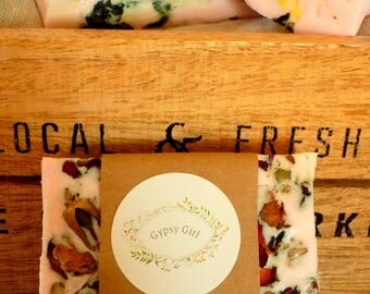 Organic rose SOAP and shea butter