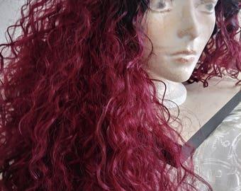 Mermaid siren wig