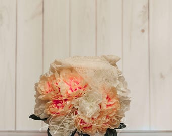 Orange and Cream Bouquet- INSTANT DOWNLOAD
