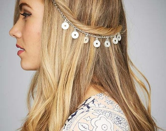 Fashion Boho Women Hair Accessories Gatsby Hair Chain Hair Festival On trend Fashion Headwear
