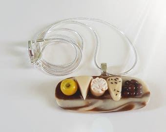 Deluxe Cheese Selection Necklace