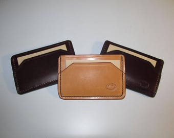 Three Pocket Card/Cash front pocket wallet