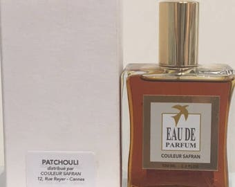 PATCHOULI perfume - 100 ml - made in Grasse - France - handcrafted by a master perfumer