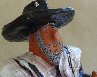 RABBI MOSHE KLEIMAN,Jewish Art,Ceramic sculpture,Figurative art,Figurine,Fine Art Ceramics,Folk art,Naive art