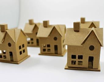 Miniature Chipboard House