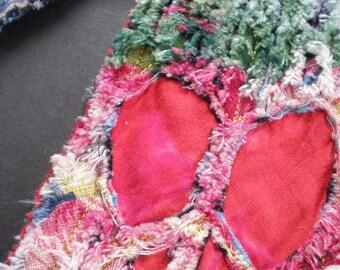 Scarf Eco Chenille Scarf Wearable Art Scarf Daniell LaPorte Scarf SavageChenille