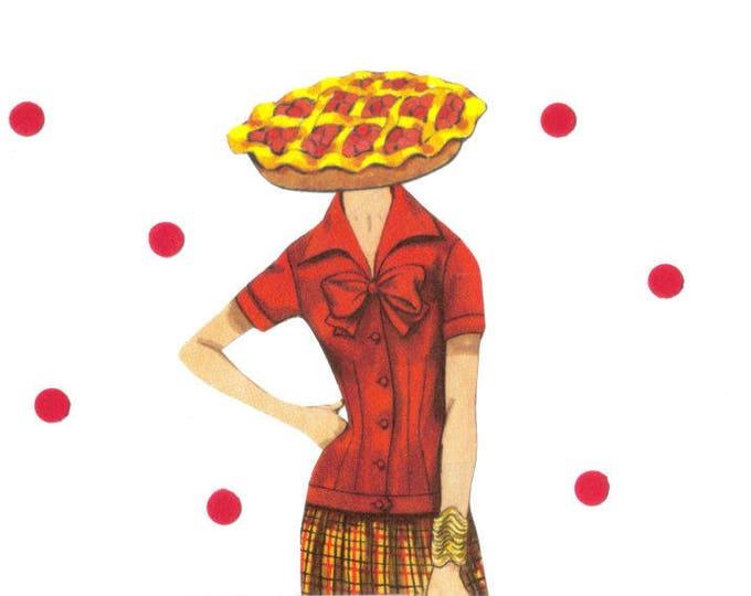 Sweetie Pie Art, Yummy Food Collage, Cutie Pie Artwork
