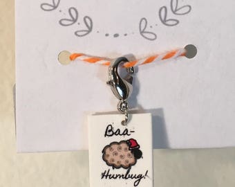 Baa-Humbug Holiday Progress Keeper
