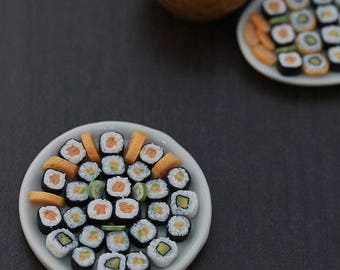 Large Sushi Platter - 1:12 Scale Sushi Weekend Collection