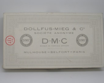 Full Box of White DMC Embroidery Floss