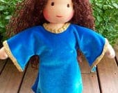 """TWO Waldorf Dolls Pattern 13-14"""" and 16"""" Child Doll: Instant Download (doll body only)"""