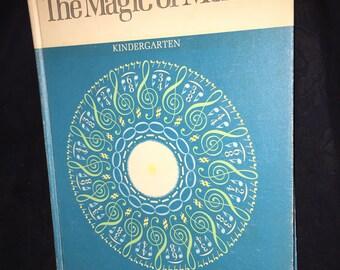 1970 Magic of Music Kindergarten Book