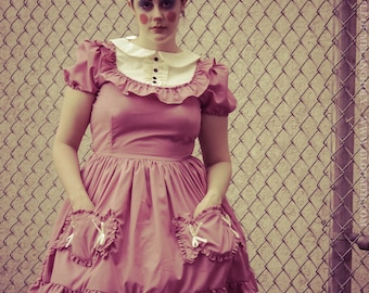 Gloomth Candy Dress with Candy Shaped Pockets YOUR SIZE