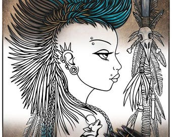 Moon tattoo etsy for Myka jelina coloring pages