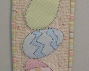 Tower of Easter Eggs Wall Hanging