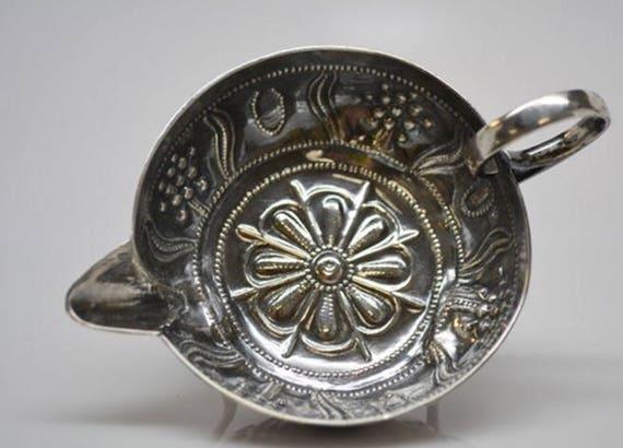 1648 Charles I Transformed Tastevin in Sterling Silver London by SA