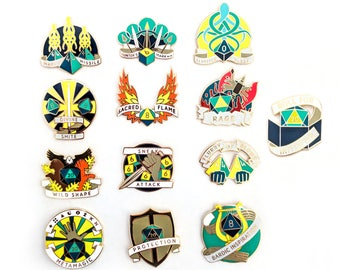 Wholesale Class Classic Enamel Pin Collection