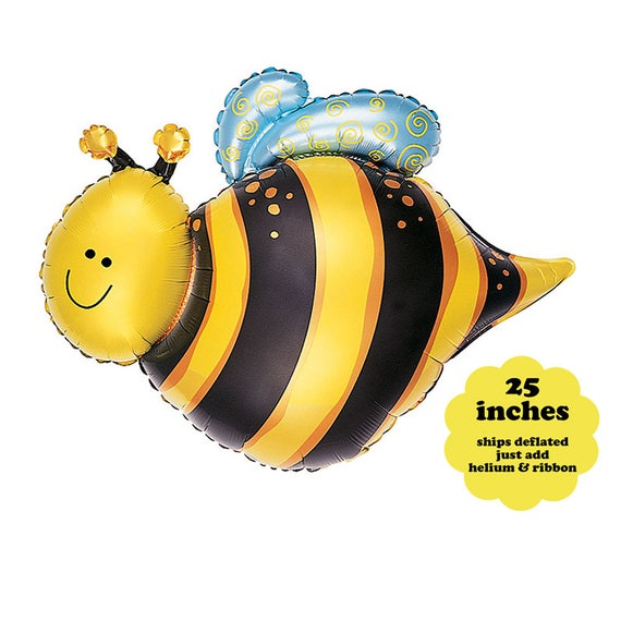 Bumble Bee Balloon Bee Party Decorations 25 Bee Birthday Foil