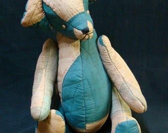 Articulated Patchwork TEDDY BEAR