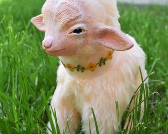 Petal - Baby Pygmy Goat - OOAK Art Doll