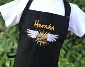 Personalized Adult Grilling Apron - Monogrammed Apron - Personalized Apron - Apron for Men - BBQ Apron - Fathers Day Gift