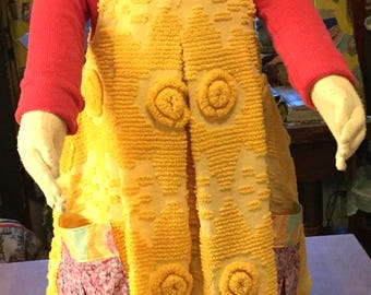 Yellow Chenille