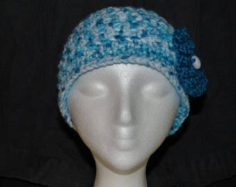 Blue Ice Summer Hat