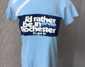Rochester NY 1980s vintage tee shirt size small
