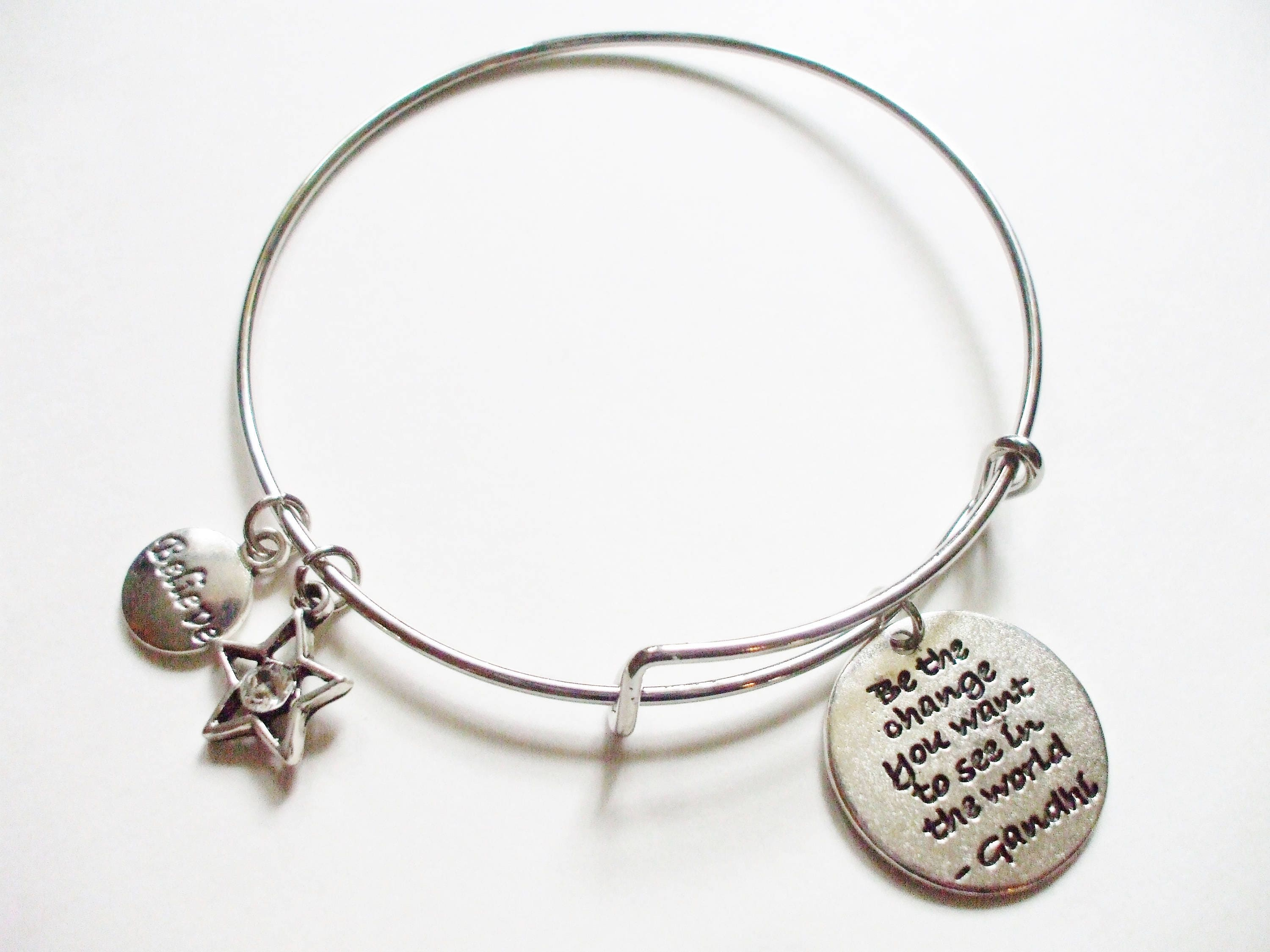 made bracelet a charms bangle personalized by with designmejewelry buy bracelets bangles life adjustable tree mommy stackable of custom
