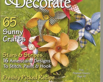 Create and Decorate Back Issue August 2009