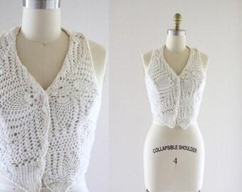 crochet open back halter top