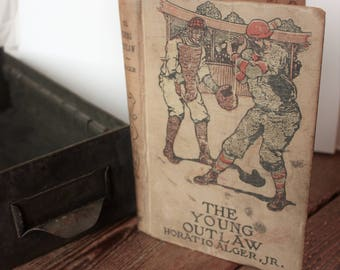 Vintage Book The Young Outlaws   Baseball