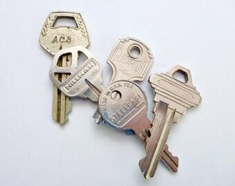 Five Shiny Old Keys
