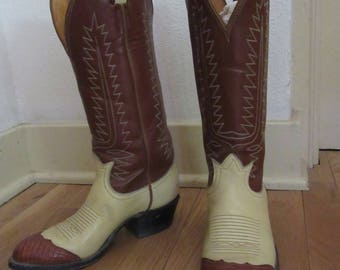 Tony Lama Small Cowgirl Boots