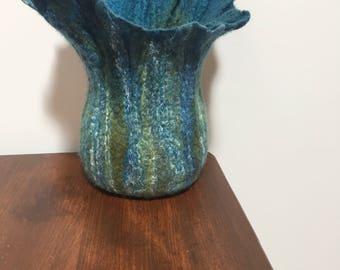 Sculpted Pod Vase Bowl Succulent Pot Candle Holder Home Decor
