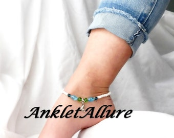 BEACH Ankle Bracelet BAREFOOT Anklets for Women CRUISE Jewelry Guaranteed