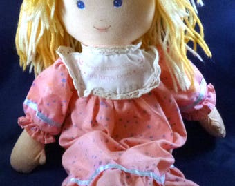 Vintage Holly Hobbie First Edition Doll, 1990