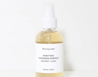 Purifying Cleansing Essence : herbal BHA + crystal