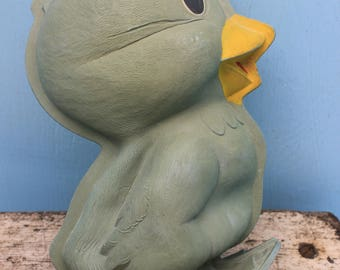 Vintage Duck/Bird Hot Water Bottle, Schraders and Son, England