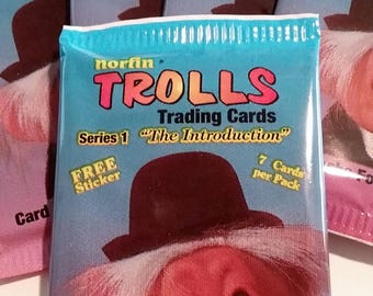 Norfin Troll Trading Cards, 3 Packs